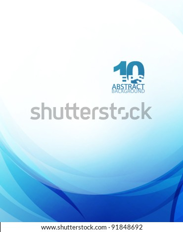stock-vector-blue-wave-business-template