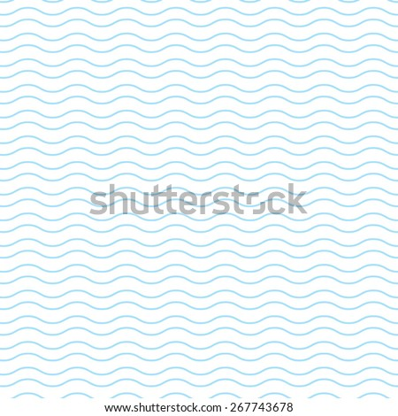 Blue wave pattern