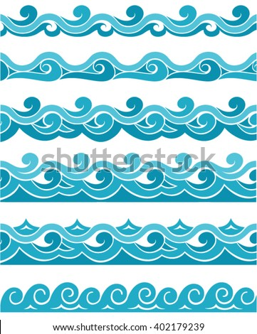 Royalty Free Stock Photos And Images Blue Waves Sea Ocean Vector