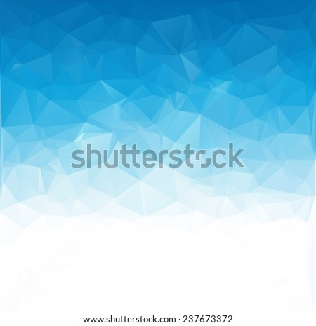 blue white  polygonal mosaic