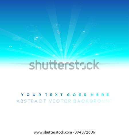 blue winter sun  cool