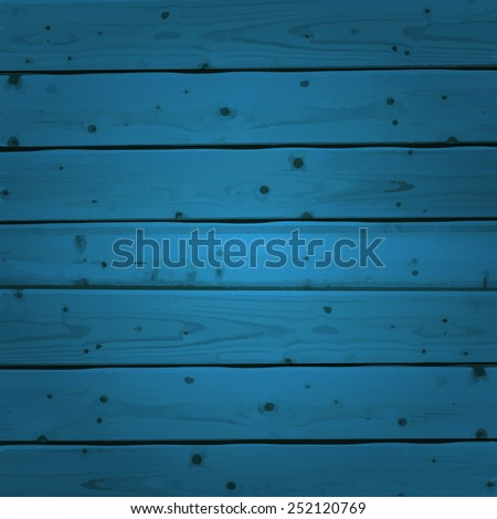 blue wood planks texture