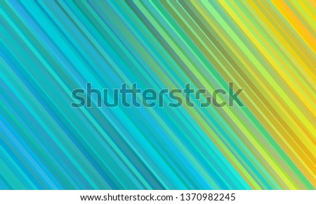 blue yellow abstract striped