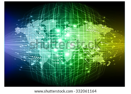 Green world map matrix background vector download free vector art blue yellow green light abstract technology background for computer graphic website internet businessrcuit gumiabroncs Image collections