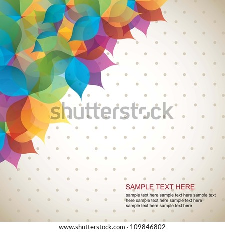 Blue, yellow, purple, background vector illustration