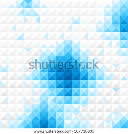 Bluelight Mosaic background vector