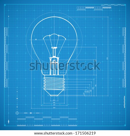 10 seamless blueprint patterns best psd freebies blueprint of bulb lamp malvernweather Images