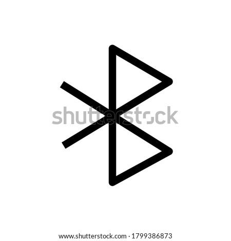Bluetooth sign icon. Mobile network symbol. Data transfer. Report document, information and check tick icons. Currency exchange. Vector Сток-фото ©