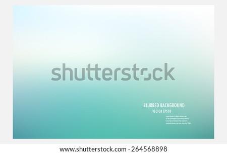 Blurry Beach Background Vector