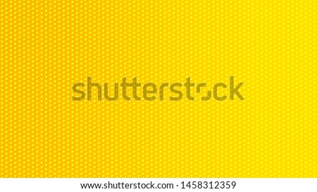 Blurred background. Circle dots pattern. Abstract yellow gradient design. Round spot texture background. Landing blurred page. Circles bubble or dots pattern. Vector