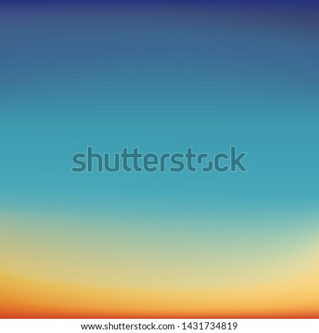 blurred background imitating