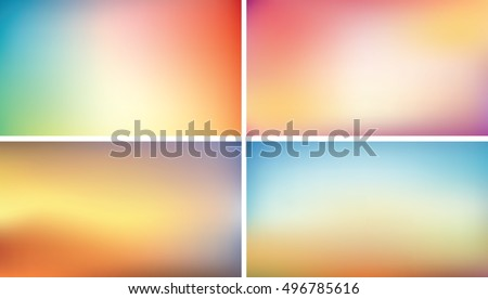 blurred background set  16 9
