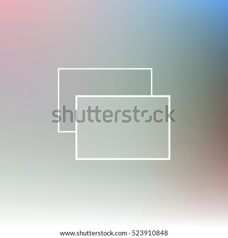 blurred background with windows