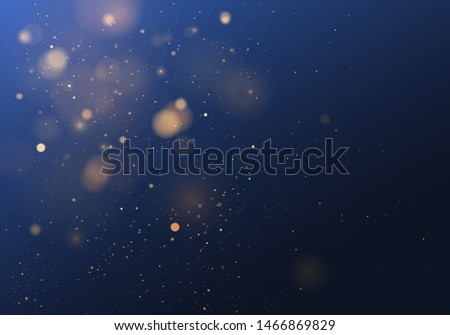 blurred bokeh light on dark