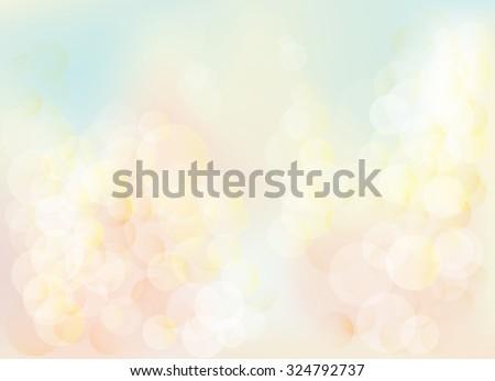 blurred bokeh pastel lights