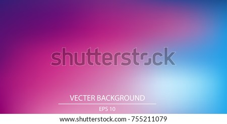 Blurred bright colors mesh background Smooth blend banner template. vector illustration in EPS10