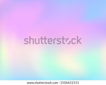 stock vector blurred hologram texture gradient wallpaper elegant pastel rainbow unicorn background polar 1506652151