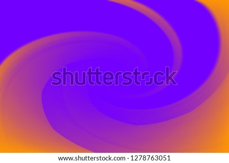 blurred purple and orange colors twist wave colorful effect for background, illustration gradient in water color art swirl rainbow and sweet color concept, purple colorful wallpaper with twist swirl