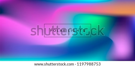 blurry fluid vector background