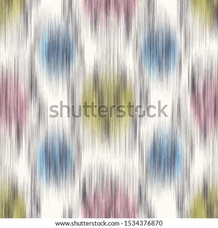 blurry ikat polka dot seamless