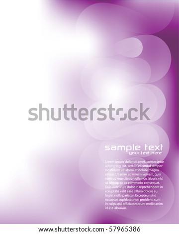 Blurry Purple Background