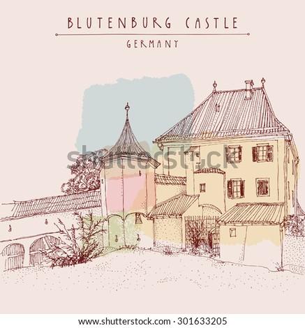 blutenburg castle near munich