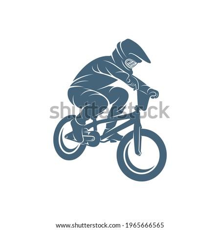 BMX design vector illustration, Creative BMX logo design concept template, symbols icons Stockfoto ©