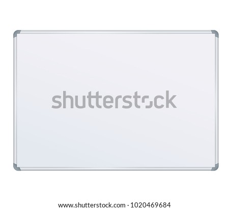 Board Banner Stand on isolated clean background. Design template blank table banner display template for designers. Vector illustration EPS 10. Flipchart for training or promotional presentation
