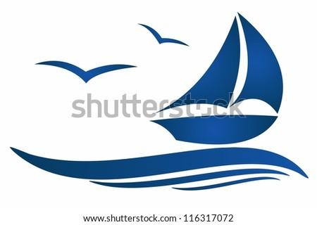 boat and beautifull sea