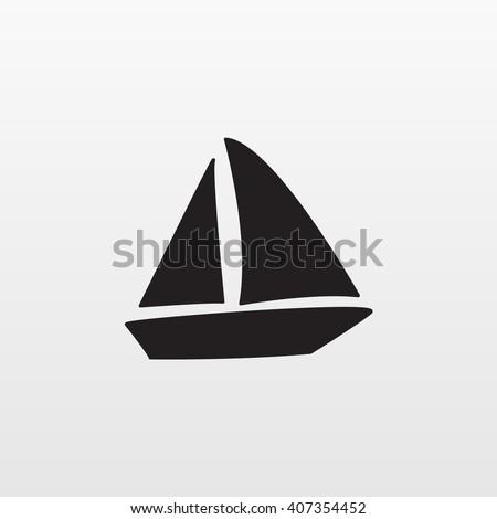 boat icon  boat icon eps10