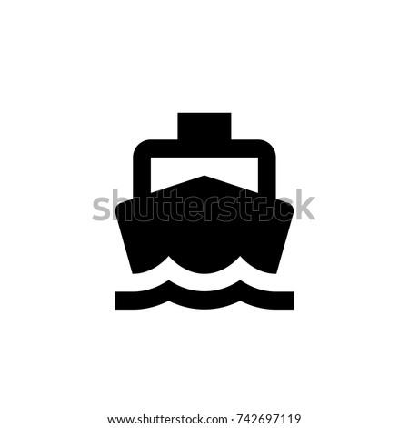 boat icon  boat icon vector  in
