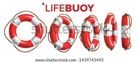 boat lifebuoy ring in different