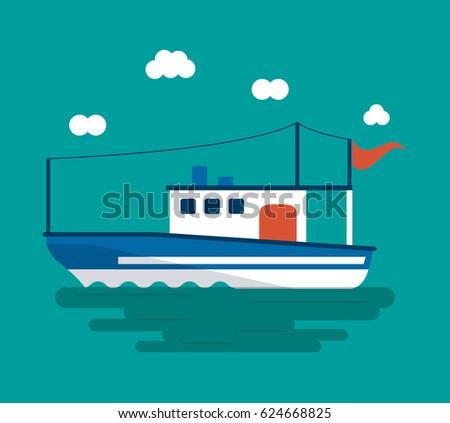 boat ship sea design