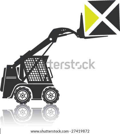 BobCat Loader Forklift Equipment Carrying Cube
