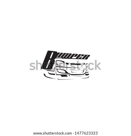 body kit workshop logo template