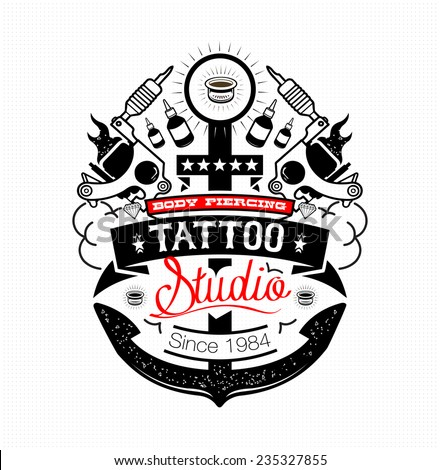 body piercing and tattoo studio