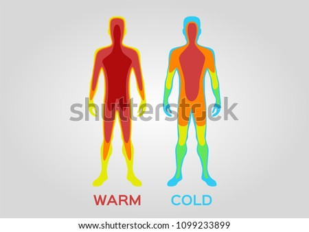body temperature vector   warm