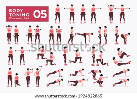 body toning  workout set women