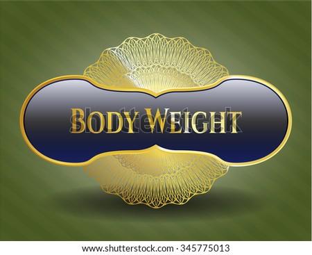 Body Weight shiny badge