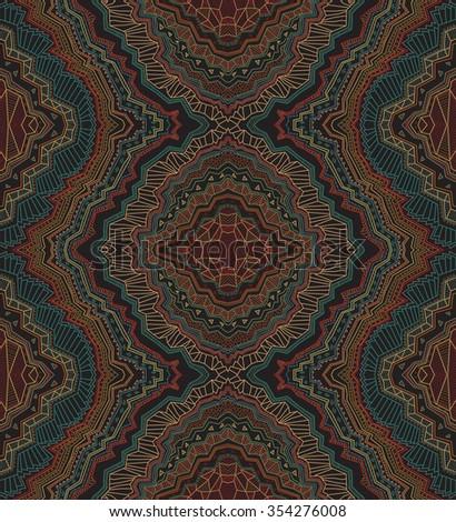 bohemian abstract vector