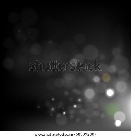 bokeh background  ideas design vector illustration graphic on background - Shutterstock ID 689092807