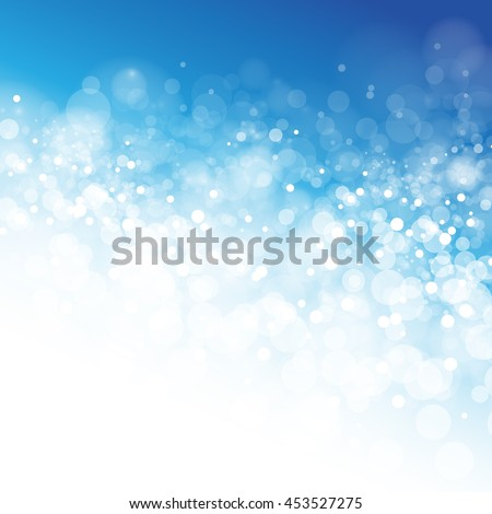 Bokeh Background - Vector Illustration, Graphic Design. Great Background For Forcing Focus On The Content