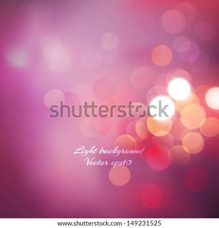 bokeh background with pink