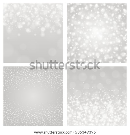 bokeh light gray sparkles on