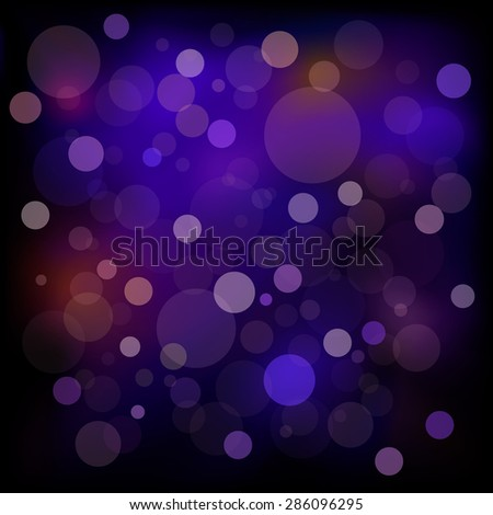 Bokeh purple background