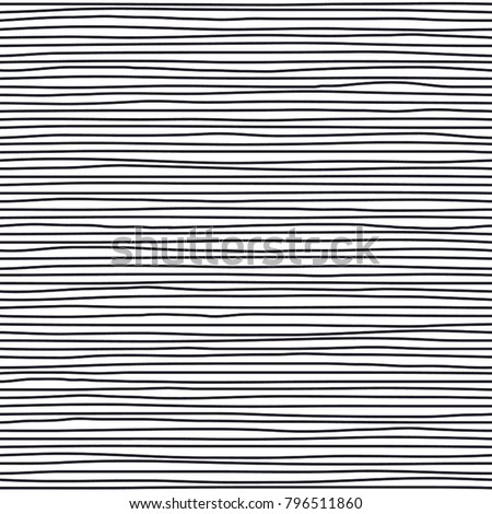 bold abstract wavy fiber seamless pattern vector texture background from irregular parallel curvy thin endless lines, stripes with no intersection water surface, motion, flow, liquid theme, hand drawn