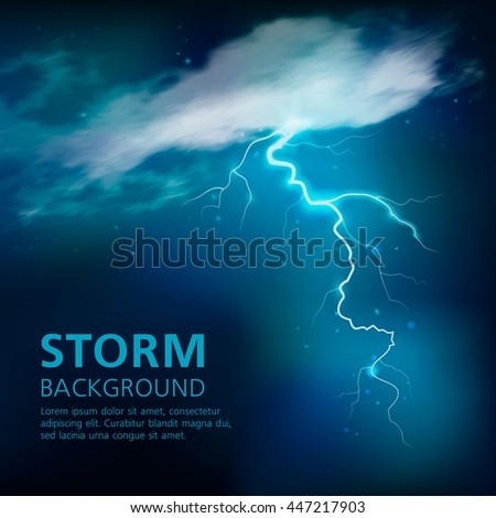 bolt of lightning background in