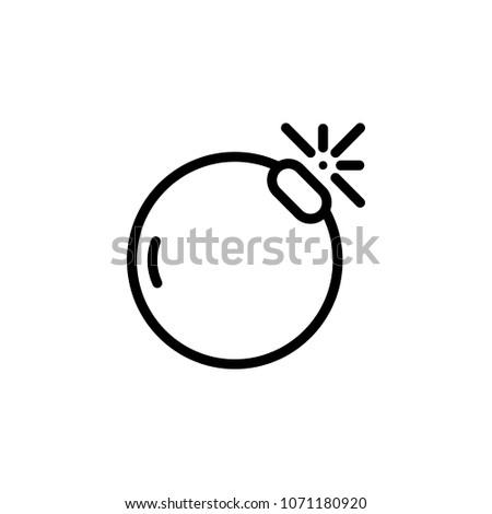 bomb icon element of