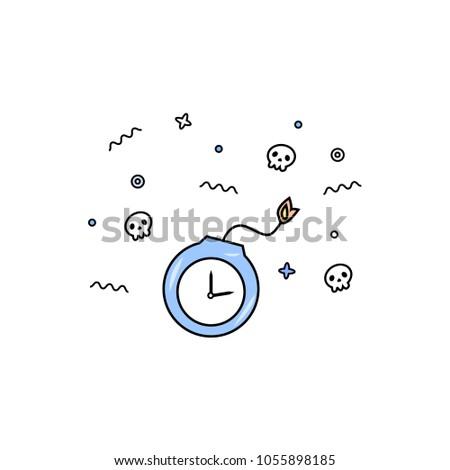 bomb time deadline vector