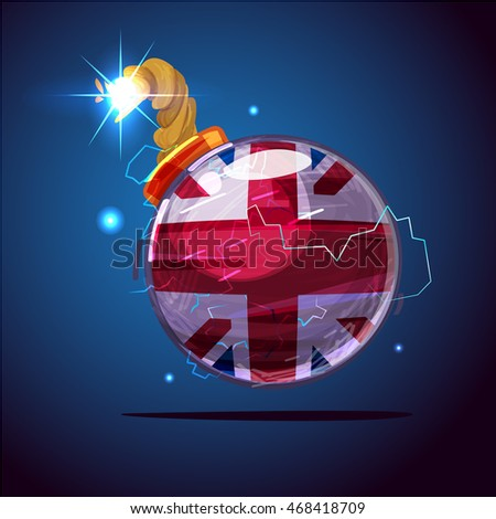 bomb with great britain or uk